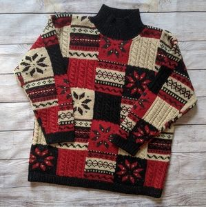 Hand Knit Cozy Sweater